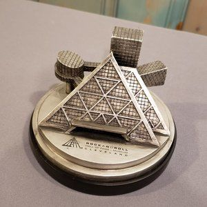 Rock N Roll Hall of Fame Decor paperweight  NEW